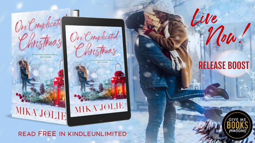 Release Boost!! One Complicated Christmas by Mika Jolie